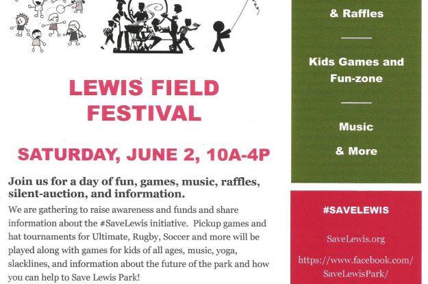 Lewis Park Field Festival
