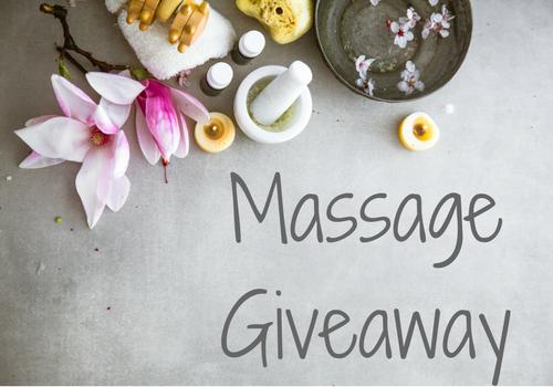 Free Massage Giveaway